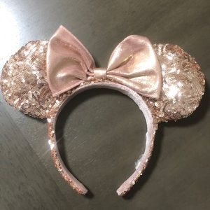 Discontinued Rose Gold Sequins WDW Ears